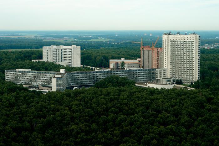 На объекте Службы внешней разведки в Ясенево произошло возгорание