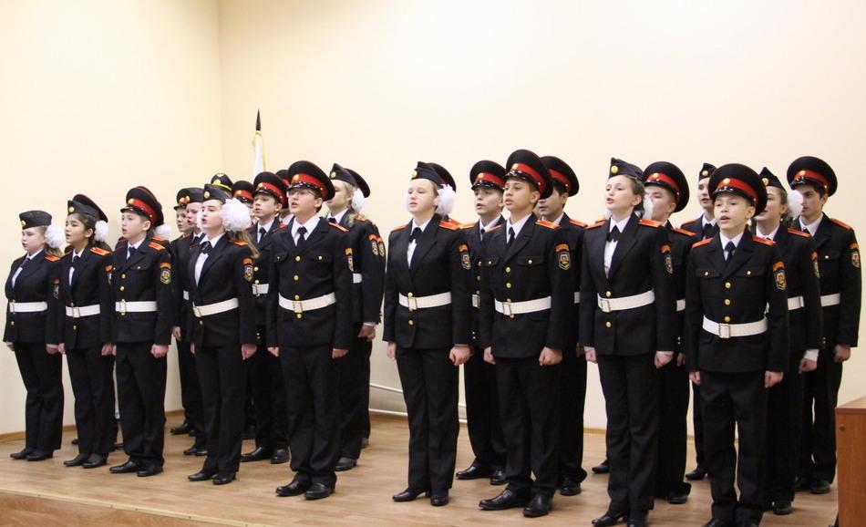 Школа №2114 объявила набор в кадетский класс