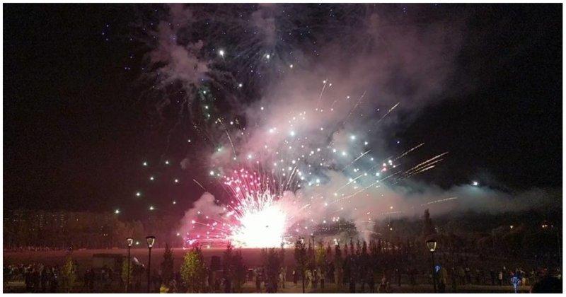 Салют ко Дню города в Южном Бутово взорвался под ногами зрителей