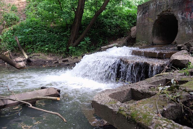 Воду реки Котловки нельзя использовать для хозяйственных нужд