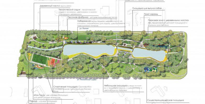 Более 93 процентов жителей Северного Бутова поддержали планы по благоустройству зоны отдыха в пойме реки Битца