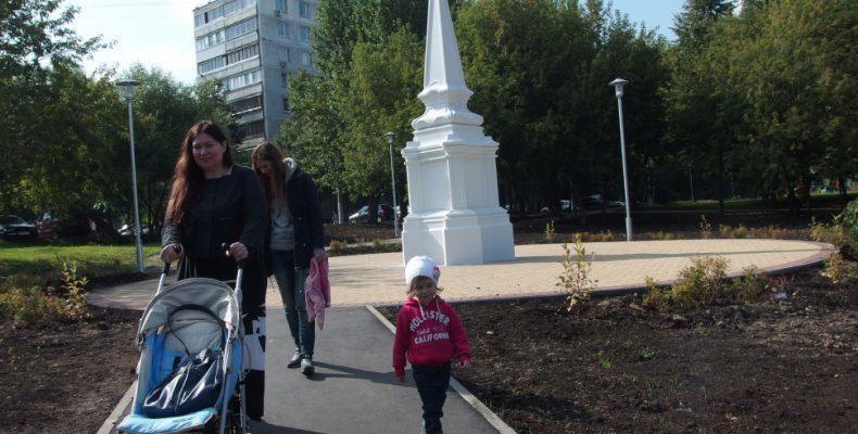 В Коньково воссоздали обелиск
