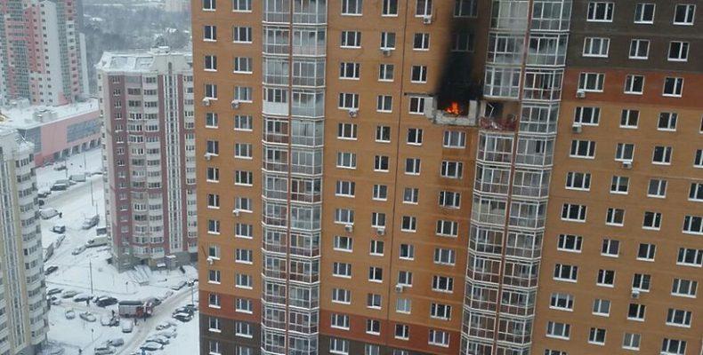 Взрыв в ЖК «Бутово-Парк»