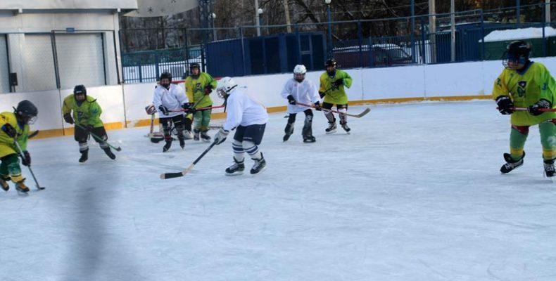 Хоккеисты Центра «Спорт-Бутово» стали участниками спартакиады «Московский двор – спортивный двор»