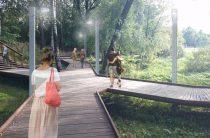 В Южном Бутово откроется большая рекреационная зона ко Дню города в 2018