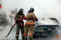 В Северном Бутово водитель заживо сгорел в автомобиле