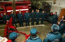 Экскурсия в пожарно-спасательной части №123
