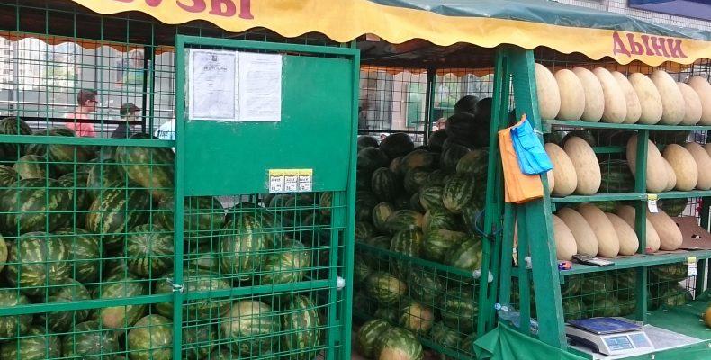 1 октября завершится работа бахчевых развалов в Северном Бутово