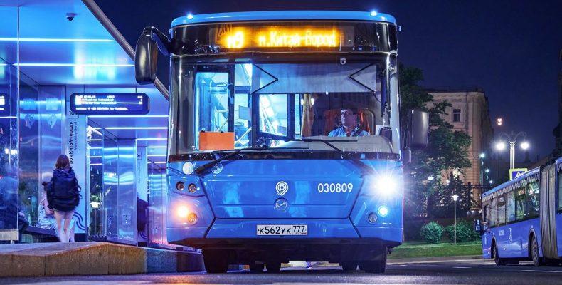 Два новых ночных автобусных маршрута запустят в Северном и Южном Бутово