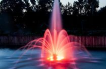 Плавающие фонтаны с подсветкой украсят парк в пойме Битцы