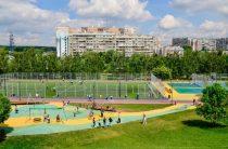На территории района Северное Бутово обустроено футбольное поле