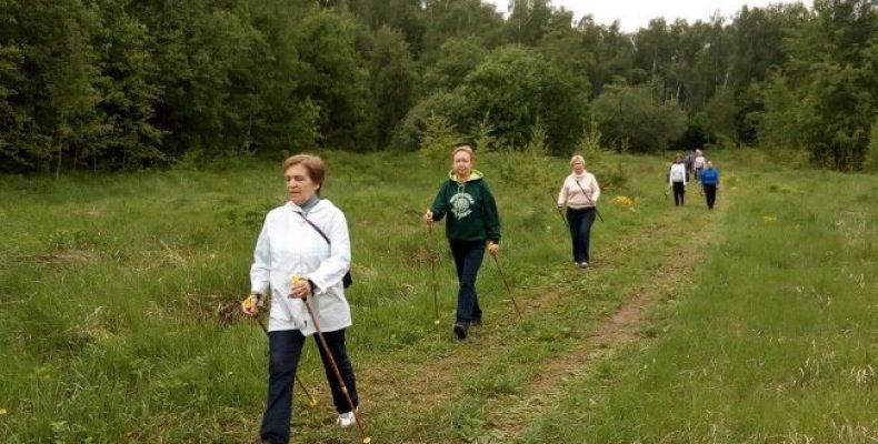 «Скандинавские ходоки выходного дня» в Северном Бутово